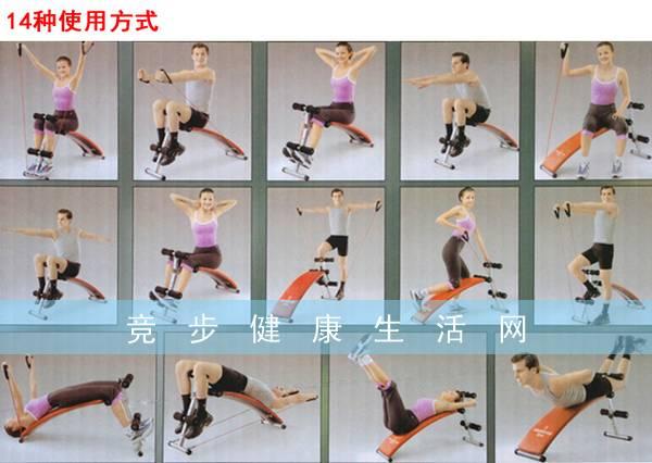 腹肌板使用方法图解