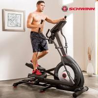 美国Schwinn十字星椭圆机 高端家用健身器材静音电磁控太空漫步机430i