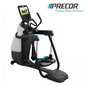 美国Precor必确AMT885一体机多功能商用健身器材跑步机